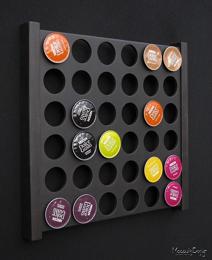 Distributeur mural dolcegusto 66n - Porte capsule dolce gusto mural ...